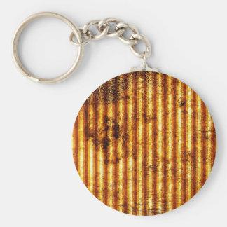 Junk Metal Rusty Antique Junk Style Fashion Art Cr Basic Round Button Keychain