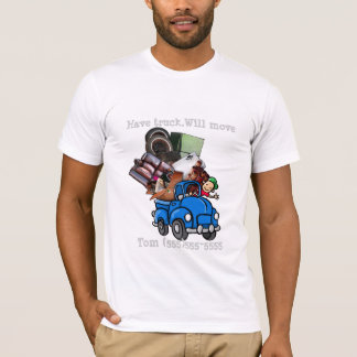 Junk or Garbage Hauling/Removal promote business T-Shirt