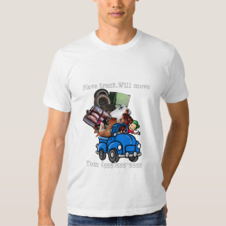Junk or Garbage Hauling/Removal promote business Tee Shirt