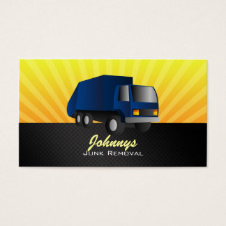 Junk Removal Business Cards