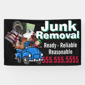 Junk Removal Garbage Hauling Custom Advertising Banner