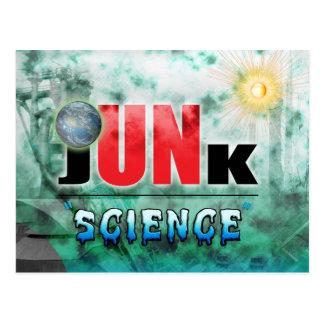 Junk Science Postcard