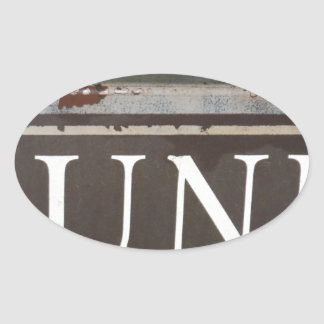 Junk Vintage tow truck sign Stickers