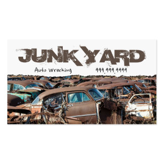 How to Start Up a Salvage Yard Recycle Center
