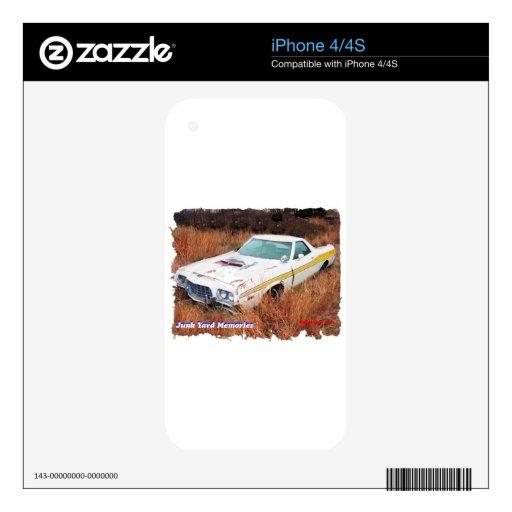 Junk Yard Memories Ford Ranchero iPhone 4S Skins