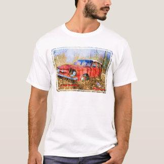 Junk Yard Memories Red Corvair Station Wag T-Shirt