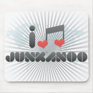 Junkanoo fan mouse pad