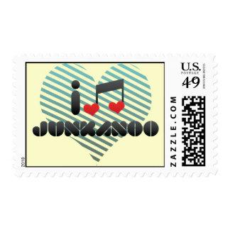 Junkanoo fan postage stamp