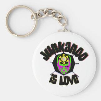 junkanoo is love3 basic round button keychain