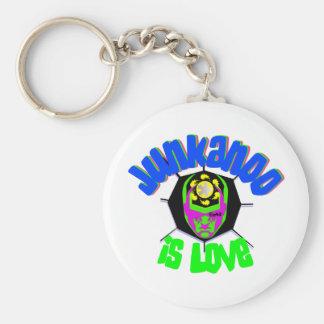 junkanoo is love4 basic round button keychain