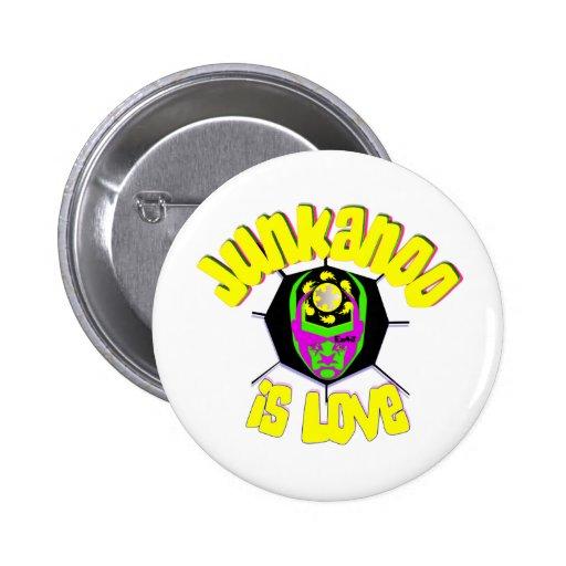 junkanoo is love 2 inch round button