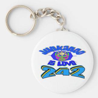 junkanoo is love basic round button keychain