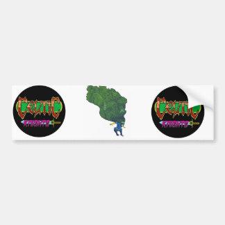 Junker por Anthea del oeste Pegatina De Parachoque