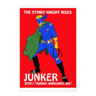 Junker web comic stationery