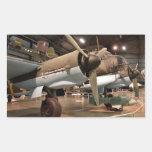 Junkers en museo pegatina