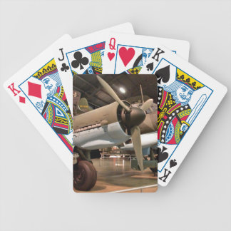Junkers in museum bicycle playing cards