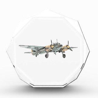 Junkers Ju 88 Bomber Airplane Acrylic Award