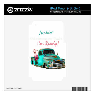 Junkin-1 Decal For iPod Touch 4G