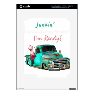 Junkin-1 iPad 3 Decals