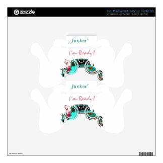 Junkin-1 PS3 Controller Skin
