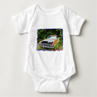 JunkYard Charger Blues Baby Bodysuit