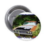 JunkYard Charger Blues Pinback Button