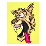 Junkyard Dog enojado Tarjeta Publicitaria