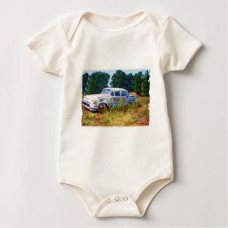 JunkYard Oldsmobile Blues Baby Bodysuit