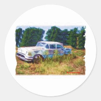 JunkYard Oldsmobile Blues Classic Round Sticker