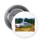 JunkYard Oldsmobile Blues Pinback Button