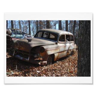 Junkyard Photos Photo Print