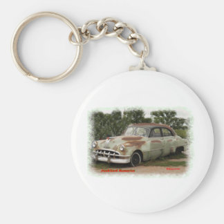 Junkyard Ponatic Memories Basic Round Button Keychain