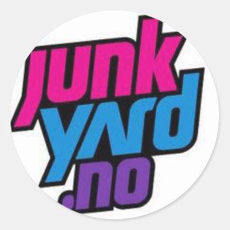 junkyard sticker