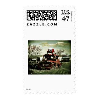 Junkyard UGA Stamp