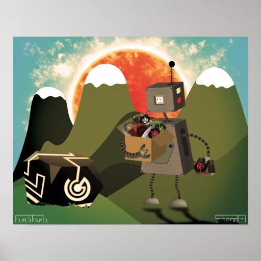 Junkybot Poster