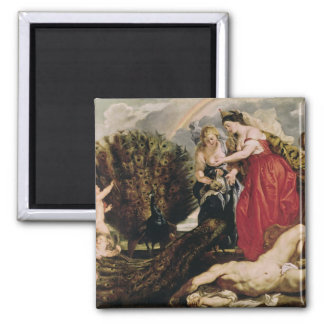 Juno and Argus, 1611 2 Inch Square Magnet
