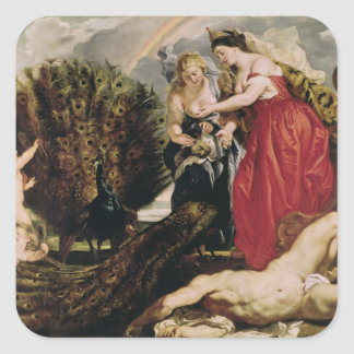 Juno and Argus, 1611 Square Sticker