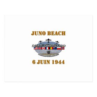 Juno Beach 1944 Normandy Postcard
