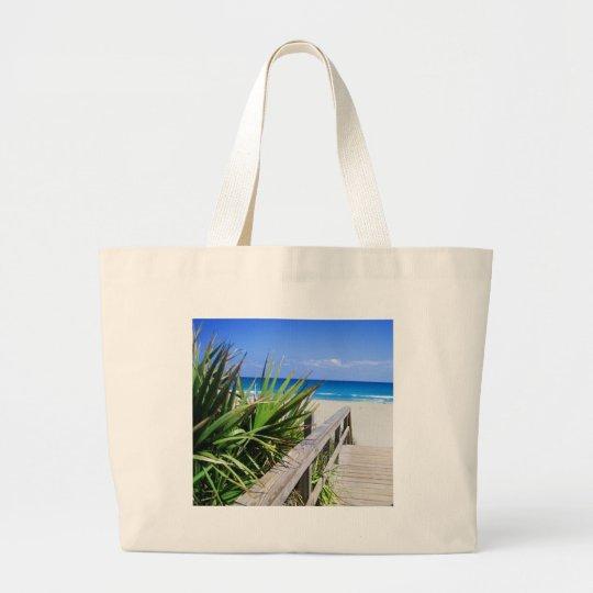 Juno Beach Florida Large Tote Bag