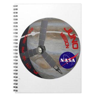 Juno: Logotipo del programa Cuadernos