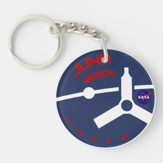 JUNO:  Mission Logo Keychain