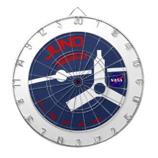 JUNO:  Mission To Jupiter Dartboard With Darts