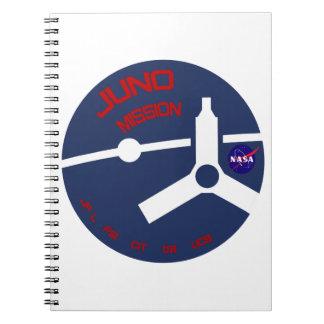 JUNO:  Mission To Jupiter Note Book
