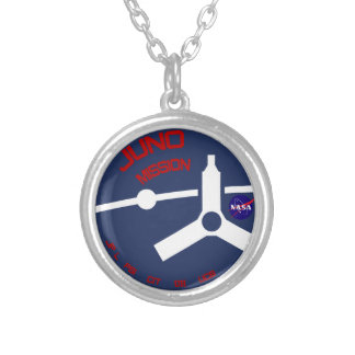 JUNO:  Mission To Jupiter Personalized Necklace