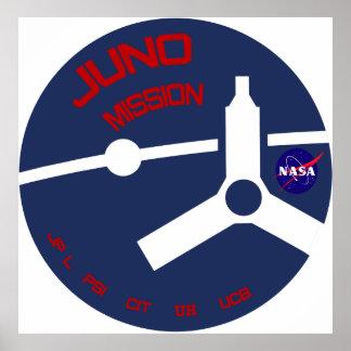 JUNO:  Mission To Jupiter Poster