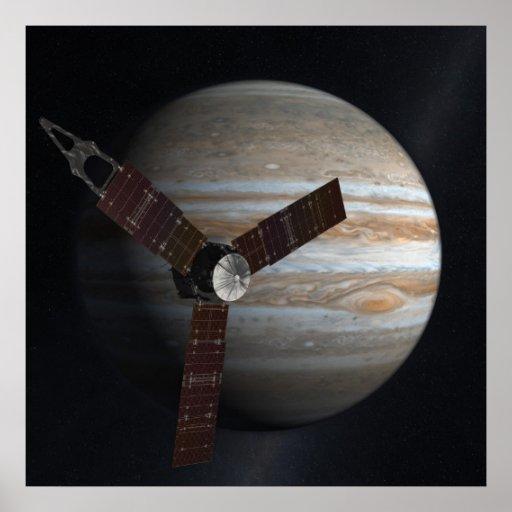 Juno Mission to Jupiter Poster