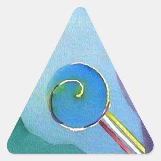 Juno Calcomanías De Triangulos Personalizadas