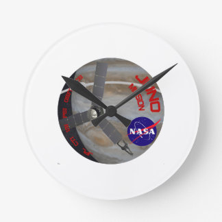 Juno: Program Logo Round Clock