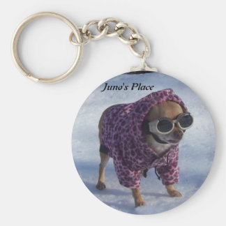 Juno s Winter Wonderland Keychain