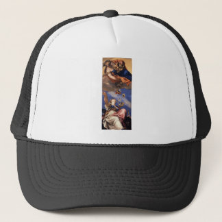 Juno Showering Gifts on Venetia by Paolo Veronese Trucker Hat